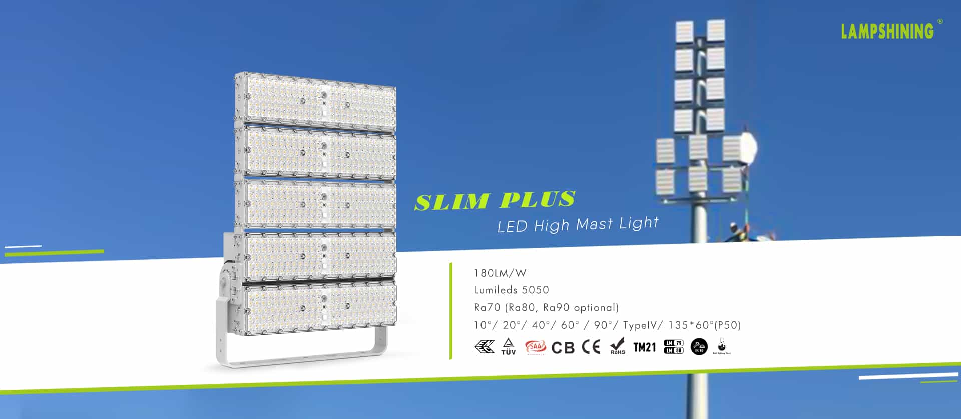 Slim Plus LED High Mast Light