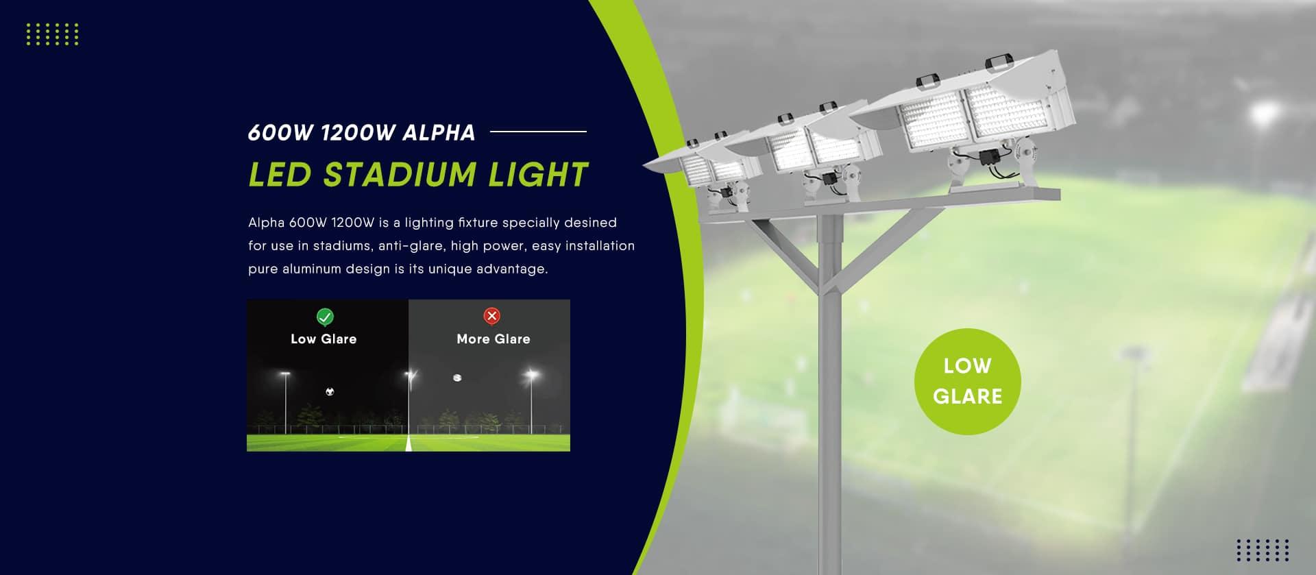 Low Glare LED Stadium Light