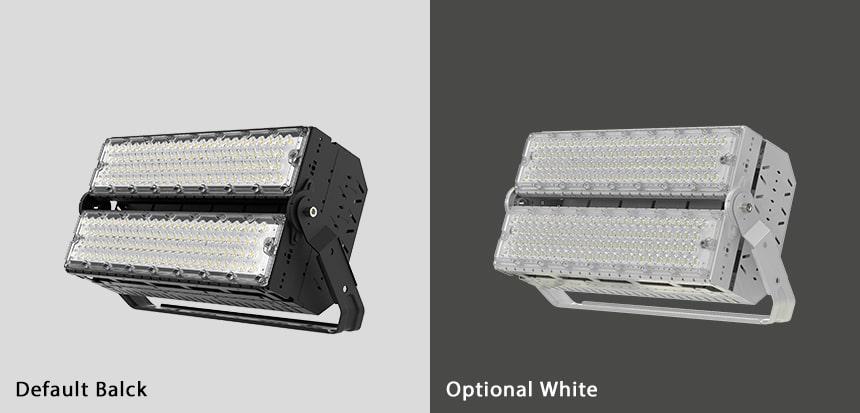 400W 480w slim pro led high mast light color, black and white