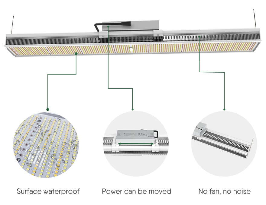 600w LED Grow Light Structural features