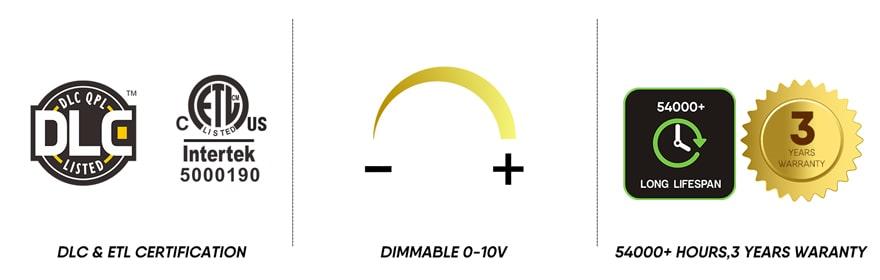 600w LED Grow Light dimmable, certification,lifespan,warranty
