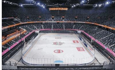 Ice Hockey Rink Lighting