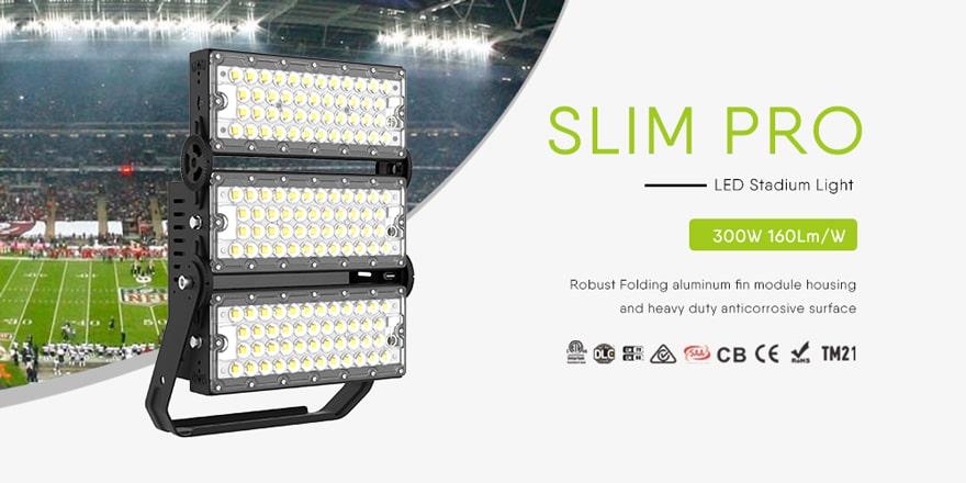 300w led outdoor area light