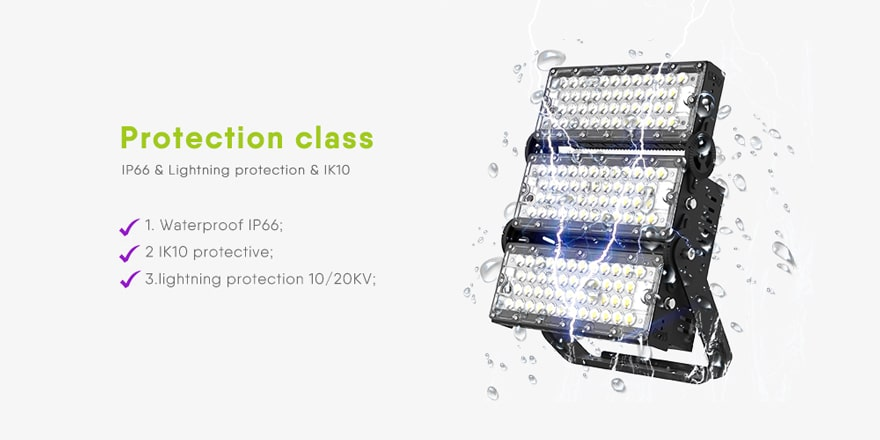 waterproof ip66 and lightining protection 10/20kv