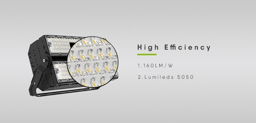 high efficiency high quality led source