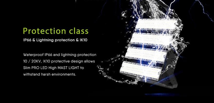 Waterproof IP66 an lightning protection,ik10