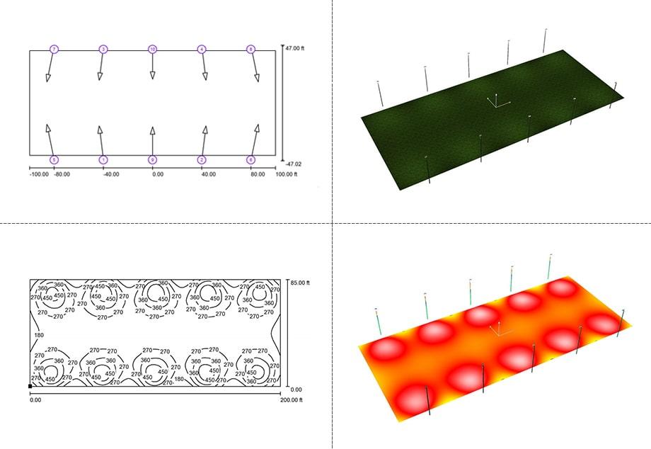 lighting project simulation