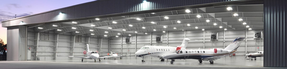 Aircraft Hangar Lighting