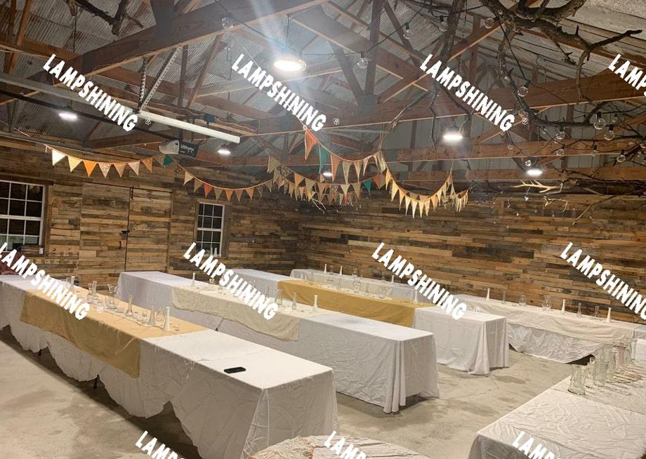 150w ufo led high bay light for 40x40x12 barn
