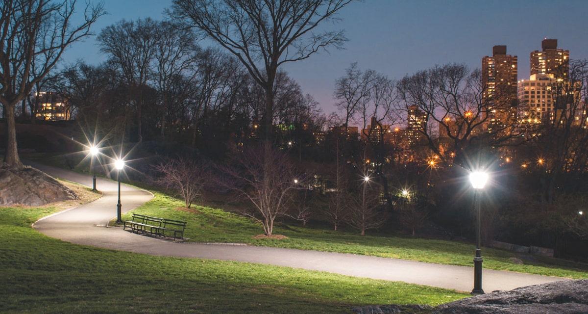 public park and garden lighting