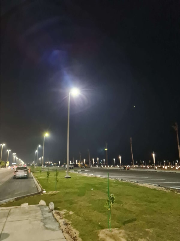 Case of 150W Pluto LED Street Light for Outdoor Roadway Lighting