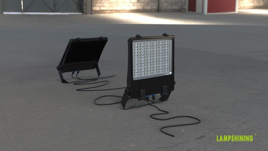 Linkable LED Flood Light Fixtures