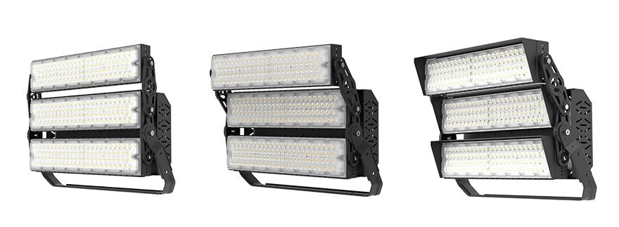 720W Slim ProX LED Lighting Fixture show