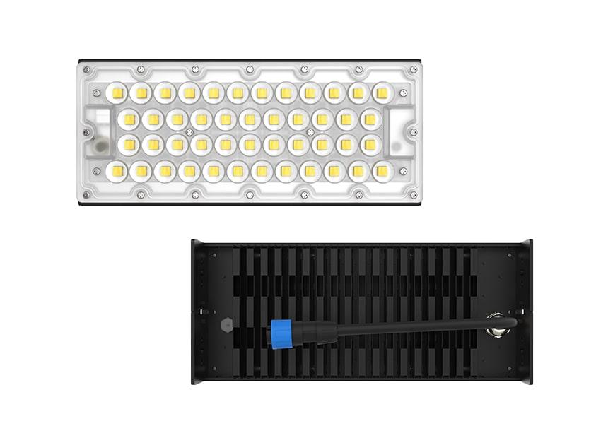100W LED Fin Module Light show