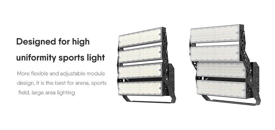 800W Slim ProX led sports light fixture