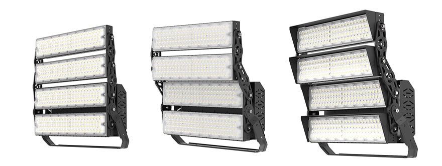 960W Slim ProX led sports light fixture