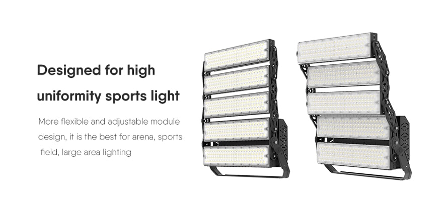 1000W Slim ProX led high pole light