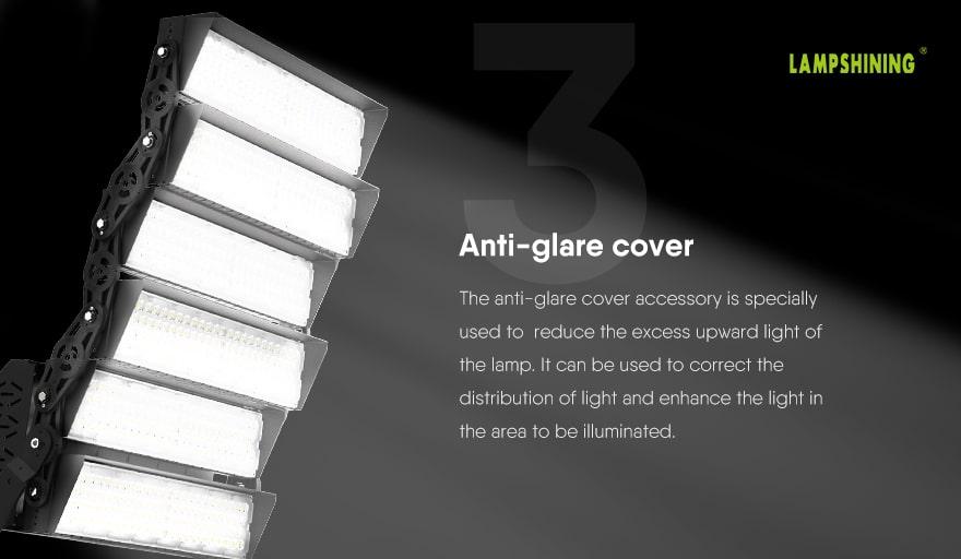 1440W Slim ProX LED High Mast Light with Anti-glare cover