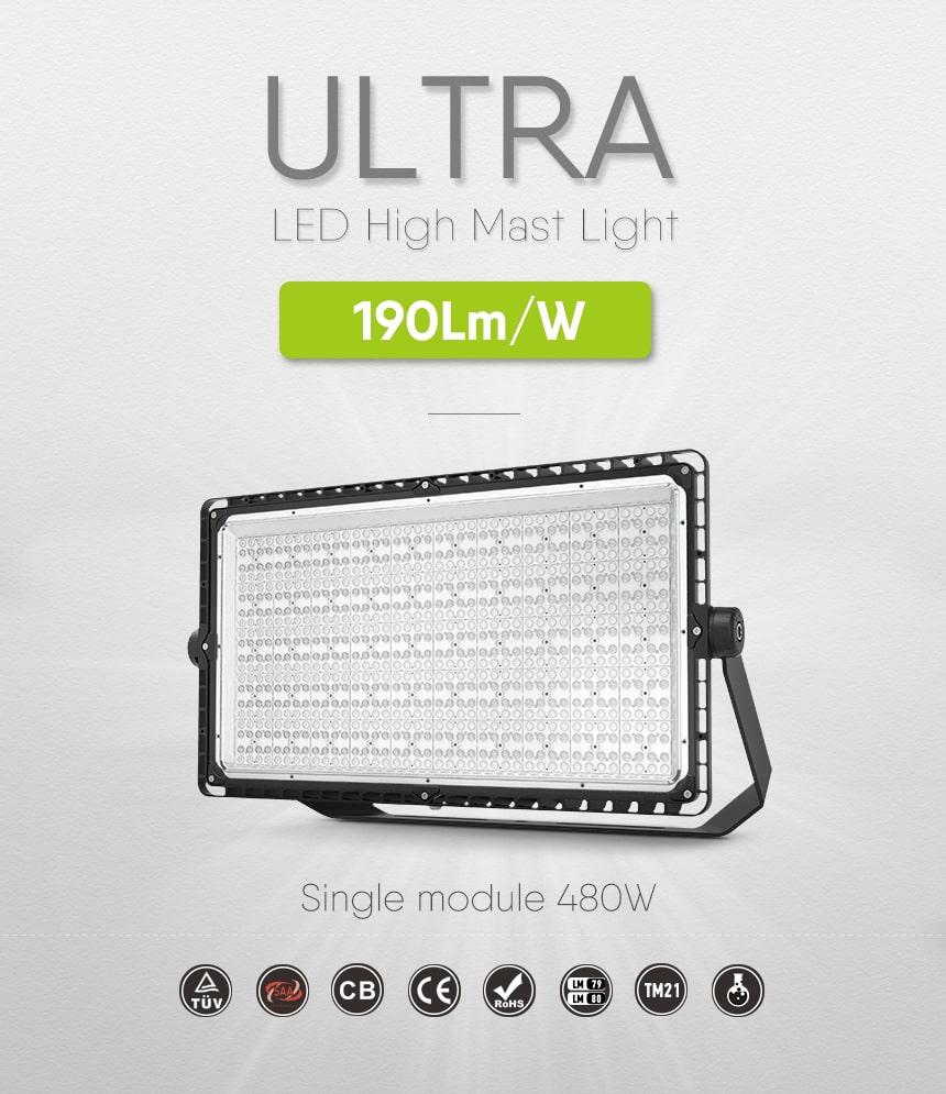 480w ultra led sport light