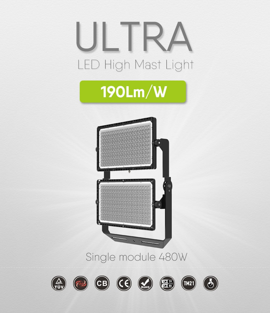960W LED Module High Mast Light