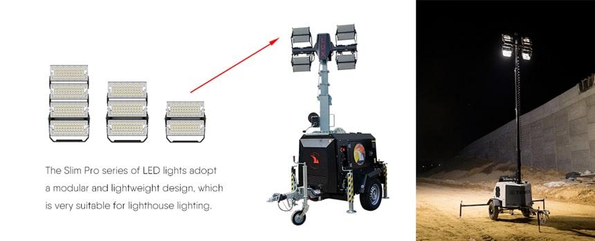 400W 480W LED Flood Light for Light Tower Lighting