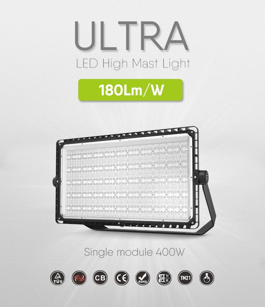 ultra 400w led stadium light