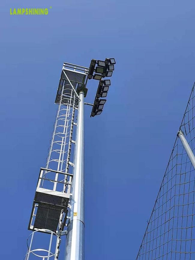 dragonfly led sport light for soccer field pole