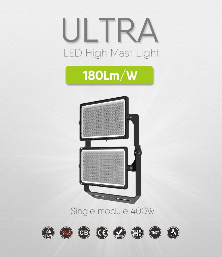 ultra 800w led stadium flood light