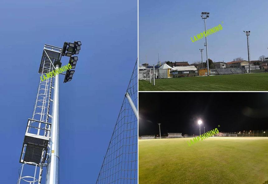 dragonfly led stadium light for soccer field