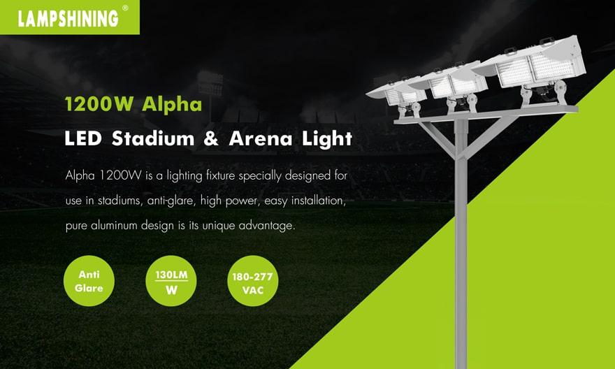 Alpha 1200W LED Stadium Light