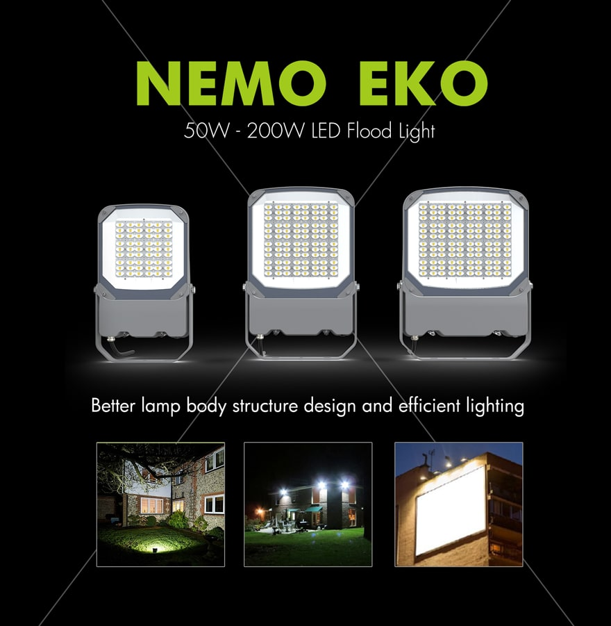 Nemo EKO 100W LED Flood light