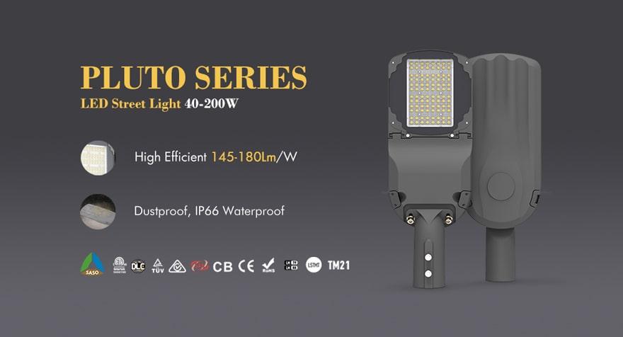 pluto 40w led street light