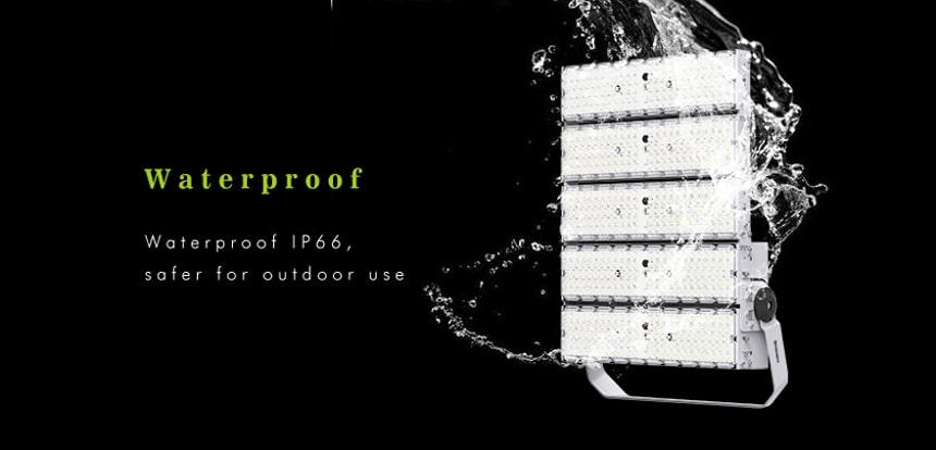 waterproof ip66 1500w led high pole flood light