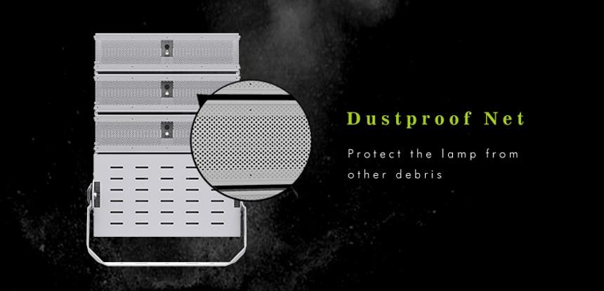 1000w Large Area Lighting with dustproof net