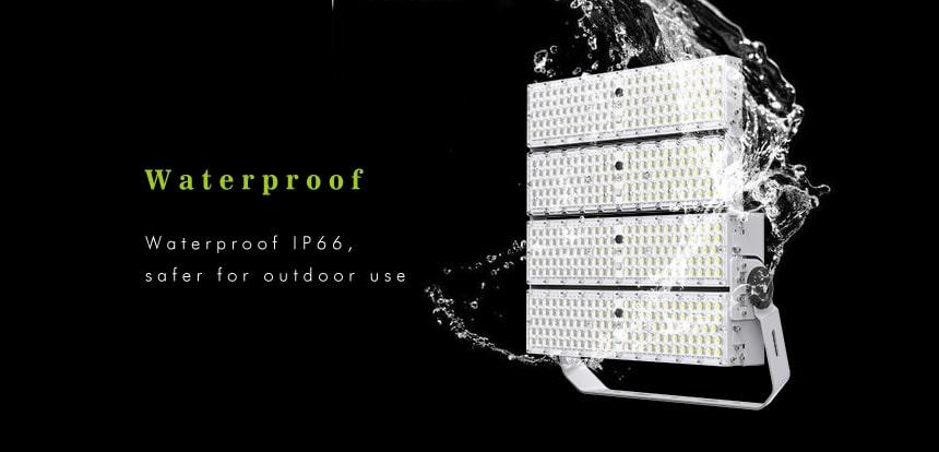 960w 1200w waterproof ip66 led high mast light