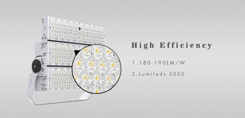 600w high efficiency 180-190lm/w LED Large Area Light