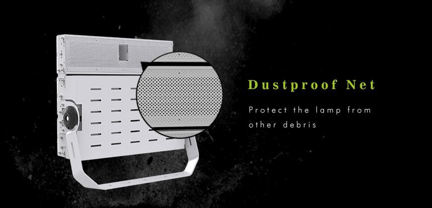 600w LED Large Area Light with dustproof net