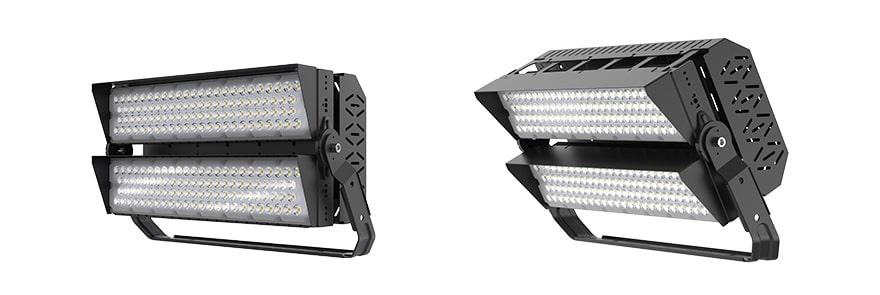 400W 480W slim pro led high mast light with Anti glare Cover