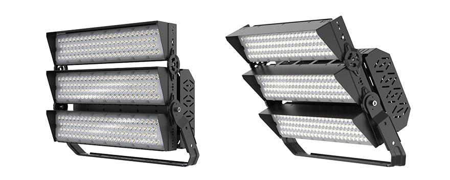 600W 720W slim pro led high mast light with Anti glare Cover