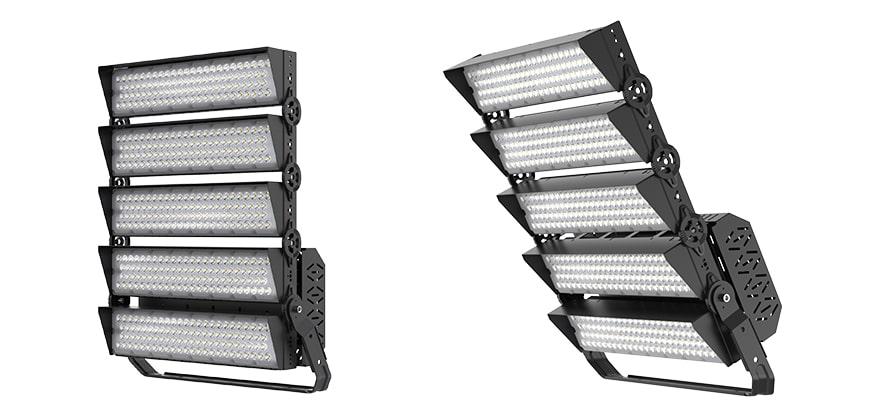 1000W slim pro led high mast light with Anti glare Cover