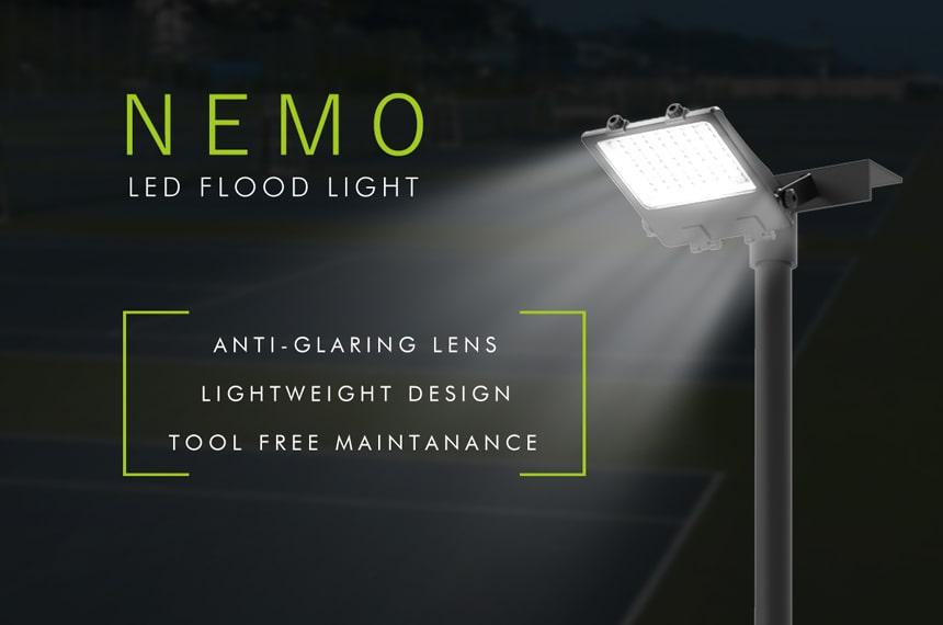 nemo 200w led flood light