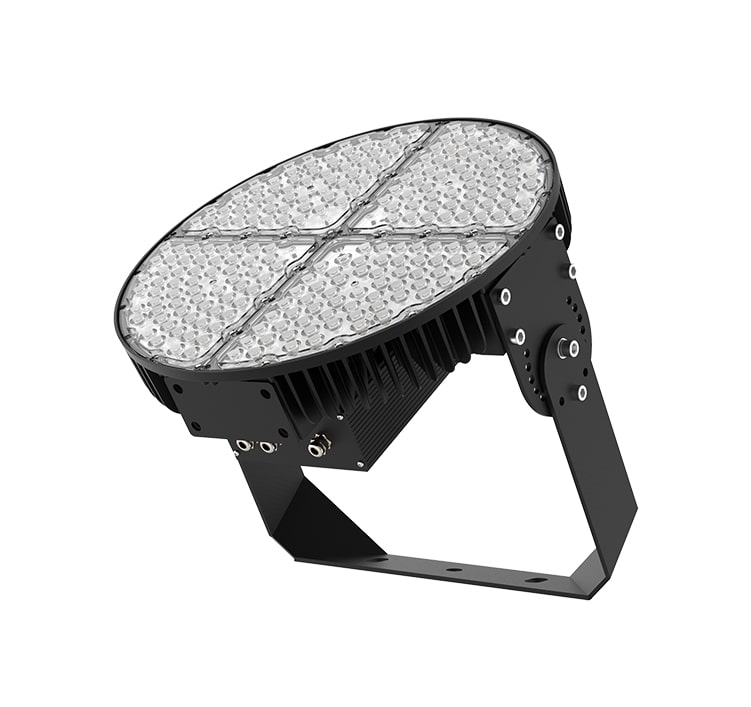 Round Aluminum LED Sports Light 480W - Anti Glare Corrosion-resistant brackets Lighting Fixtures
