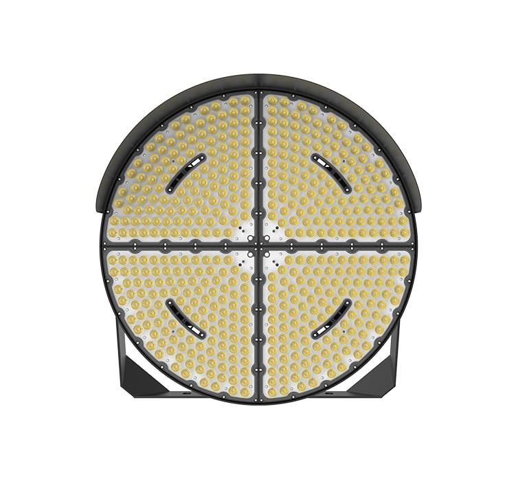 CE RoHS 960W Round LEd Lights, 153600 lumens sports flood Light led