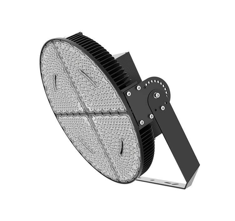 1200W Round Outdoor Large LED Stadium Light, LED Sports Lighting Manufacturers