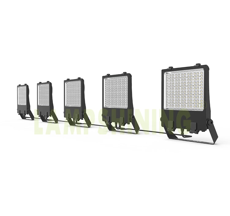 110V 220V Linkable LED Flood Light Fixtures, Waterproof Temporary Outdoor engineering projects Lighting