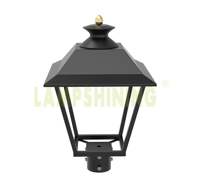 LED Post Top Pole Lights, DLC 60W 7800Lm 3000K Outdoor Urbanscape Decorative Area Top Light Fixtures