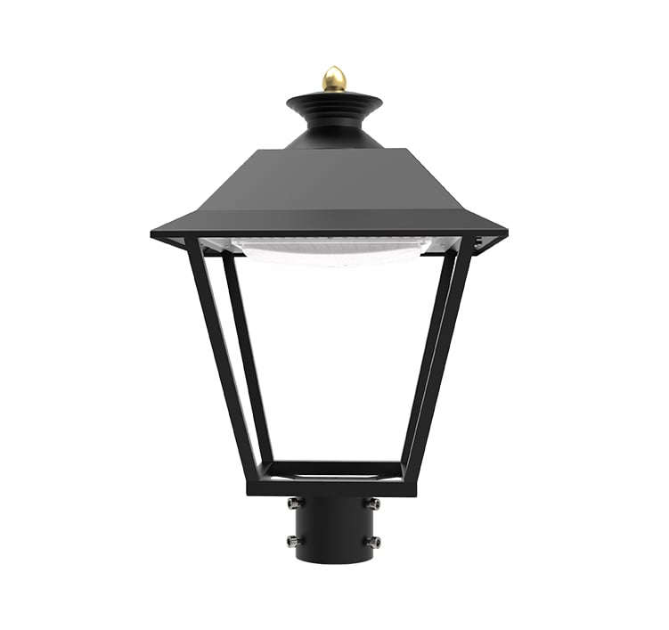 LED Courtyard Lighting Fixtures 30W, Commercial Aluminum Small Landscape Area Lights, Garden Lawn Lights