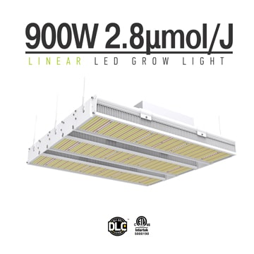 Linear 900W LED Grow Light - Indoor Plants Veg and Flower Full Spectrum Plant Grow Lighting