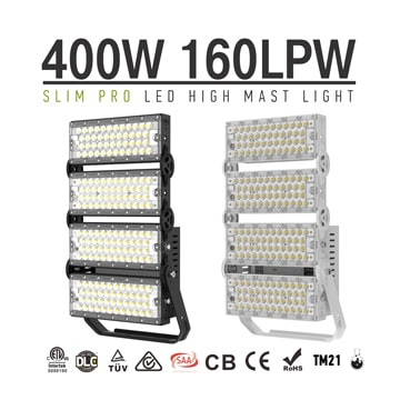 400W 480W, LED Sailboat Mast Lights, Freeway High Mast Lighting