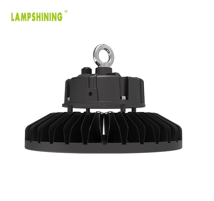 150w Slim Lightweight Folding Fins Heatsink DLC Premium UFO LED High Bay Light
